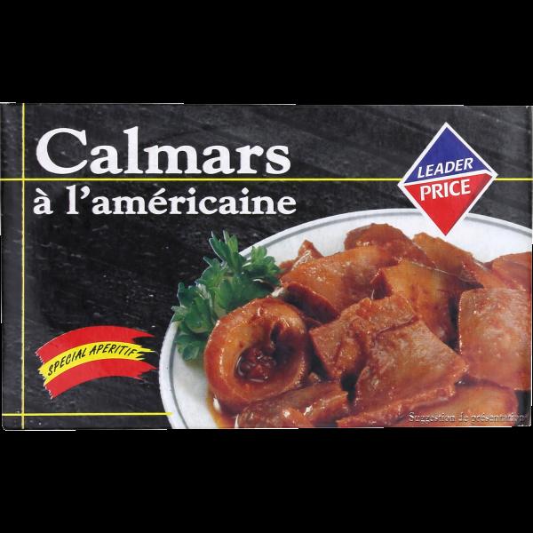 Photo Calmars à l'américaine Leader price