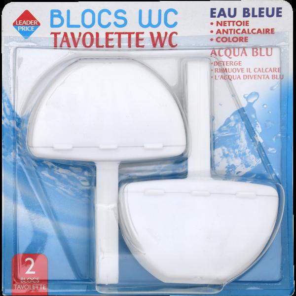 Photo Blocs WC eau bleue  Leader price