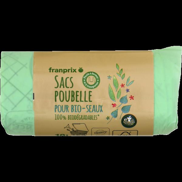 Photo Sacs poubelle pour bio-seaux franprix