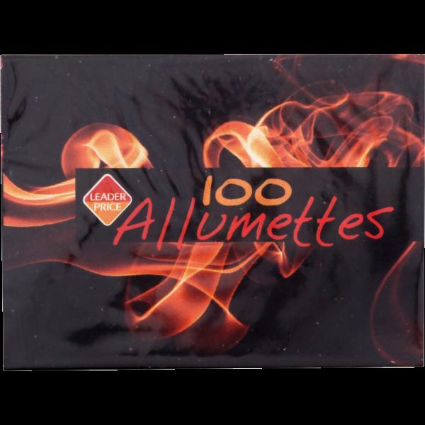 Photo Boites d'allumettes Leader price