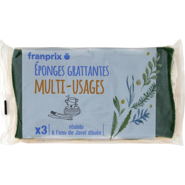 Photo Eponges multi-usages franprix