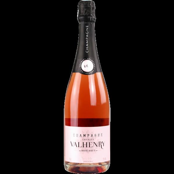 Photo Champagne rosé CHARLES VALHENRY
