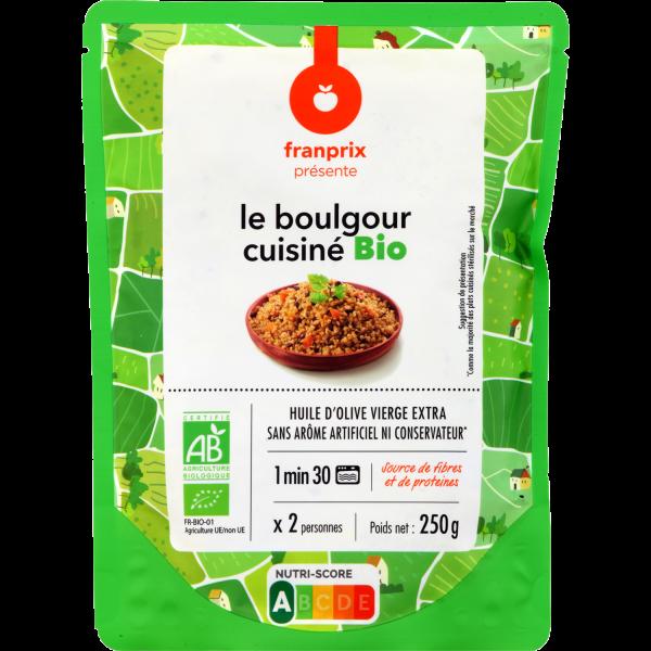 Photo Boulgour cuisiné bio franprix