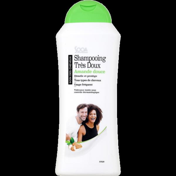 Photo Shampoing au lait amandes SOOA