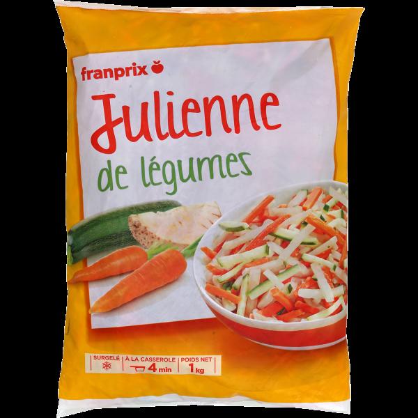 Photo Julienne de légumes franprix