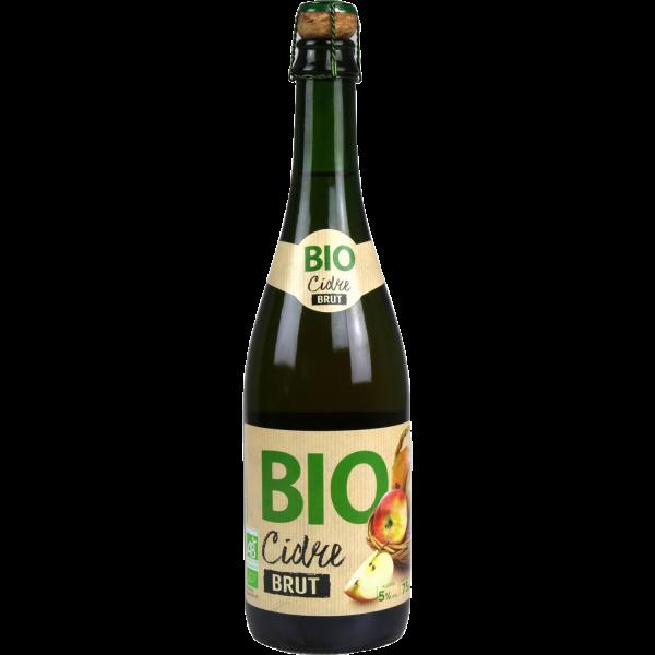 Photo Cidre brut bio franprix