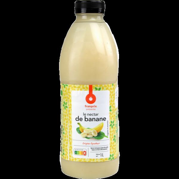 Photo Nectar de banane franprix