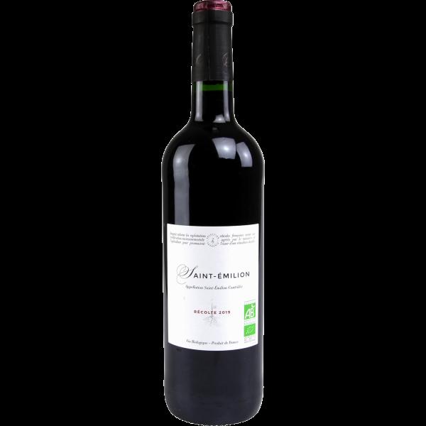 Photo Vin rouge st Emilion bio DEFAULT