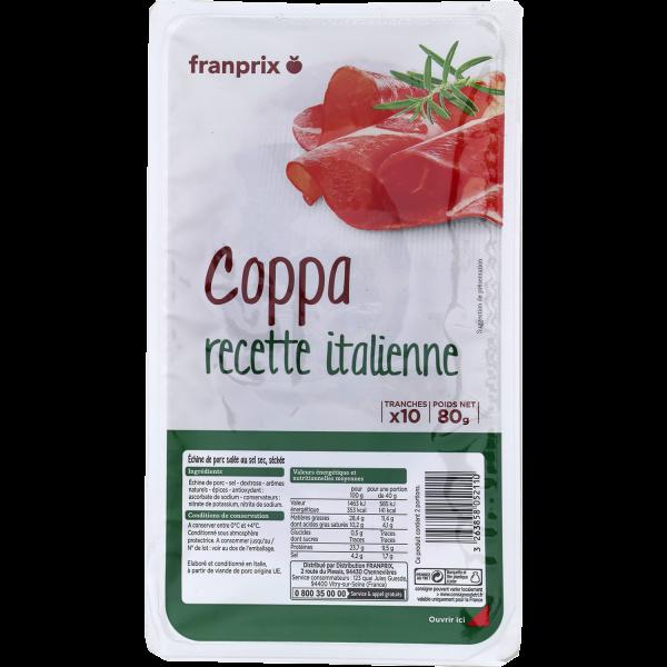 Photo Coppa tranchée franprix