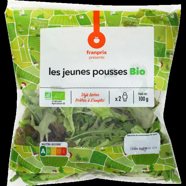 Photo Salade jeunes pousses bio franprix