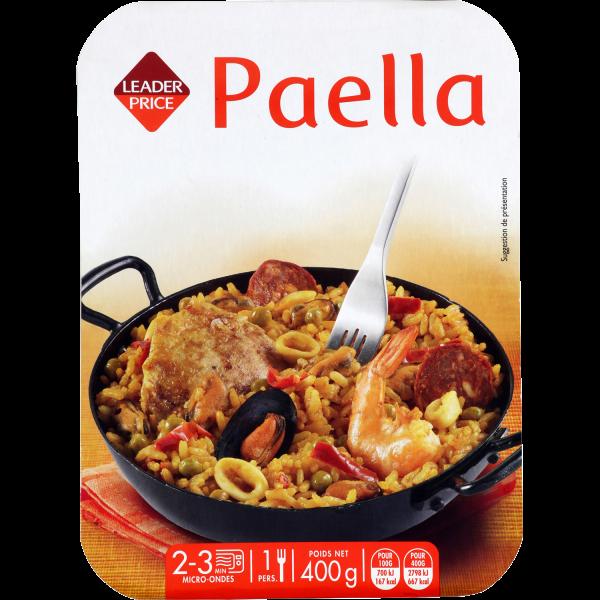 Photo Paella  Leader price