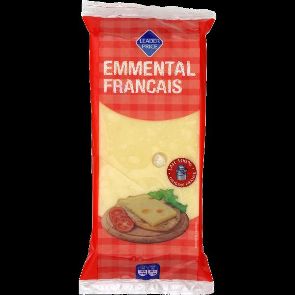 Photo Emmental français Leader price