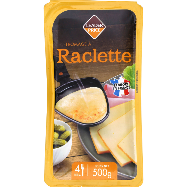 Photo Raclette tranchée Leader price