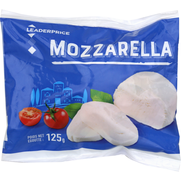 Photo Mozzarella Leader price