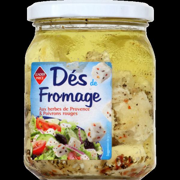 Photo Dés de fromage Leader price