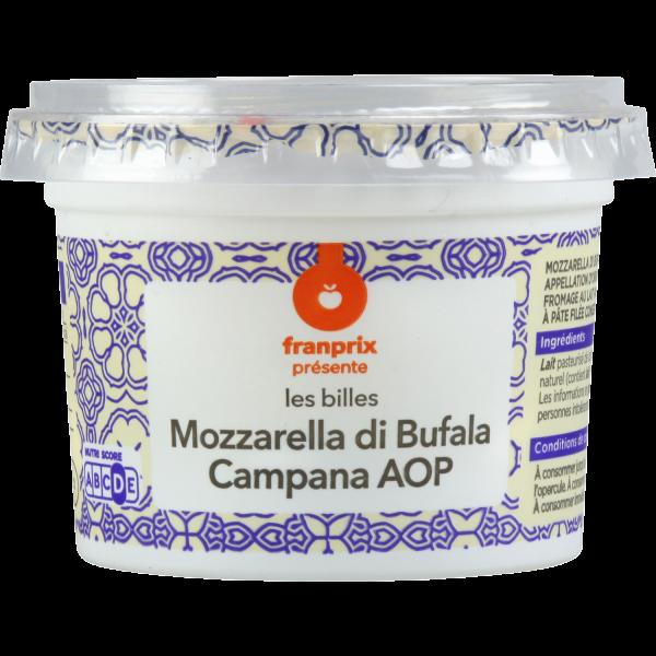 Photo Billes de mozzarella di bufala franprix