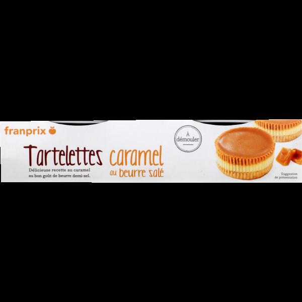Photo Tartelettes caramel beurre salé franprix