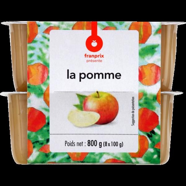 Photo Compote de pomme franprix