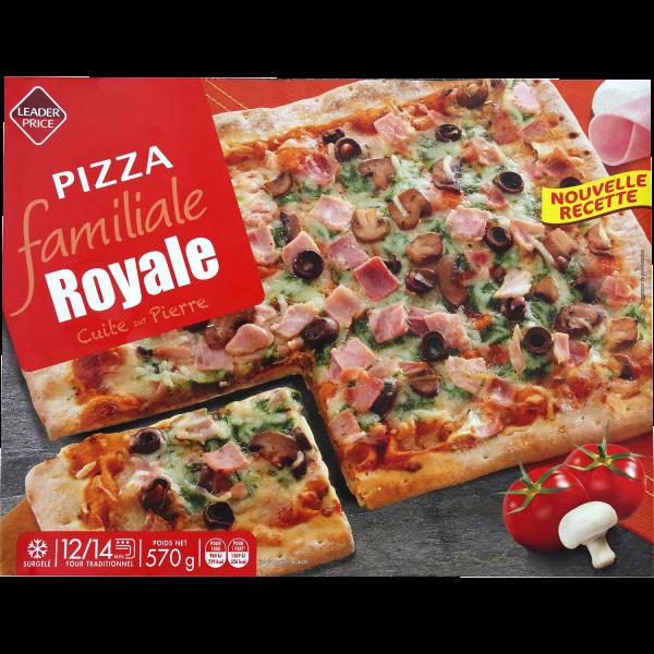 Photo Pizza Familiale Royale  Leader price