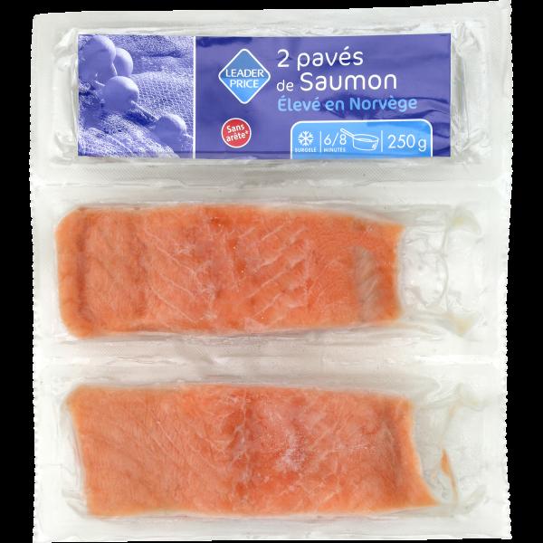 Photo Pavé de saumon Leader price