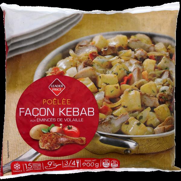 Photo Poêlée façon Kebab Leader price