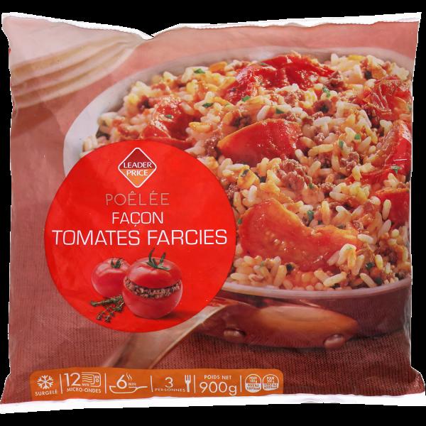 Photo Poêlée façon tomates farcies  Leader price