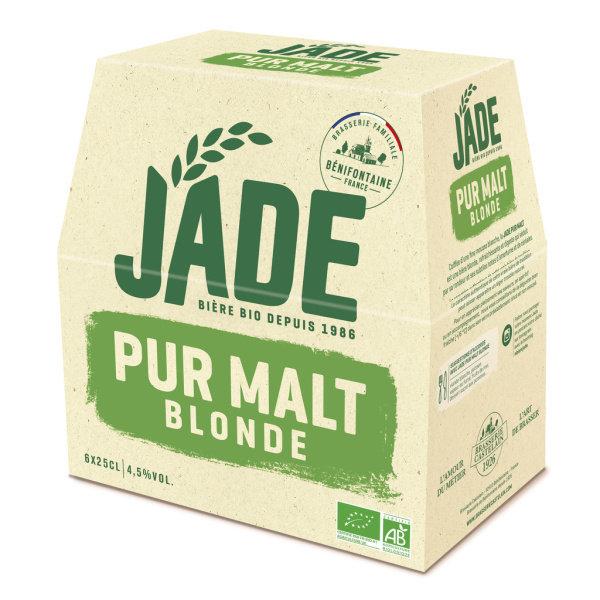 Photo Bière bio Jade