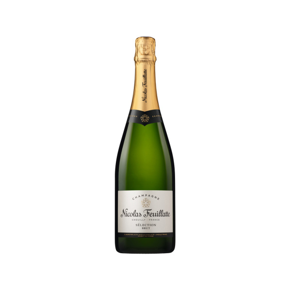 Photo Champagne brut Nicolas feuillate