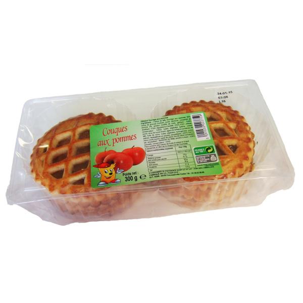 Photo Couques aux pommes  tendrépis