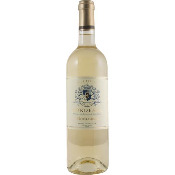 Photo Vin bordeaux blanc moelleux NoBrand