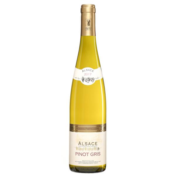 Photo Vin blanc pinot gris NoBrand
