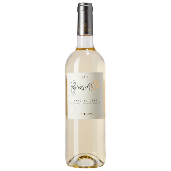 Photo Vin blanc igp gard Gallician Signature