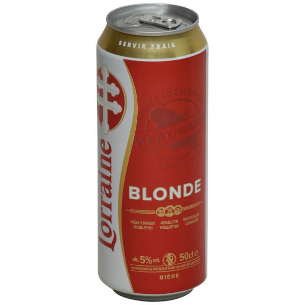 Photo Bière blonde Brasserie lorraine
