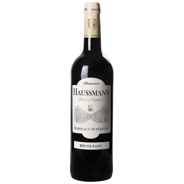 Photo Vin rouge bordeaux supérieur 12°5 NoBrand