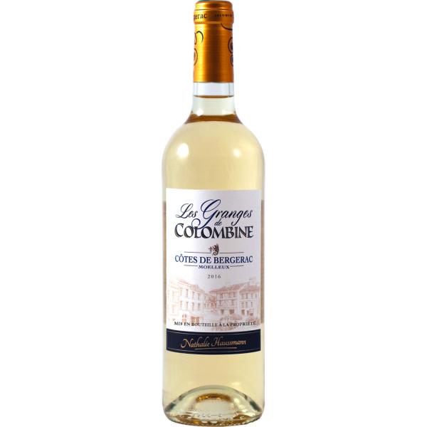 Photo Vin blanc moelleux de bergerac Granges Colombines