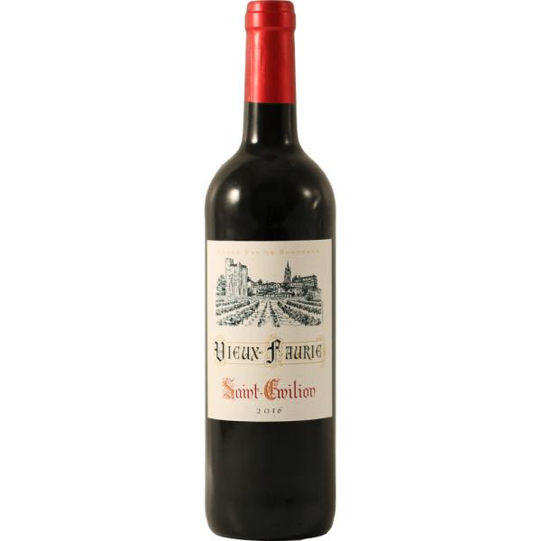 Photo Vin rouge saint emilion Château Vieux Faurie