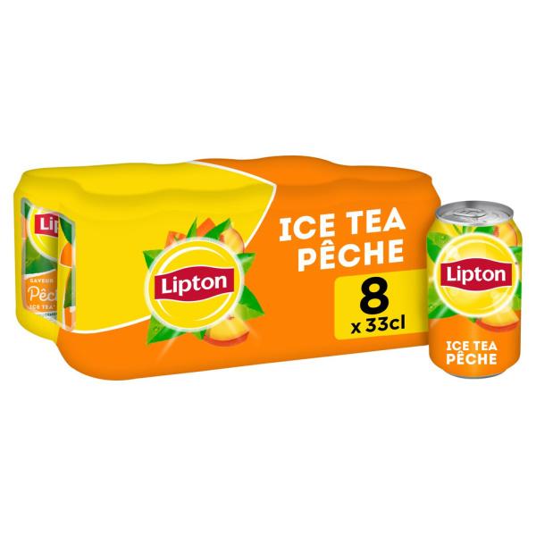 Photo Ice tea pêche LIPTON