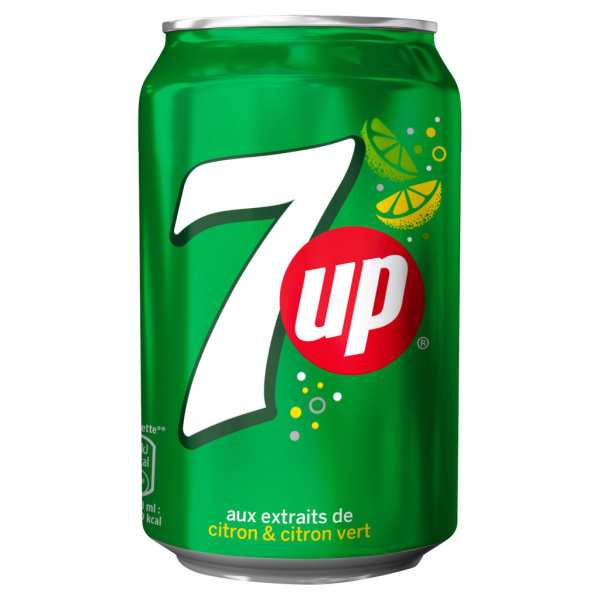 Photo 7UP canette 7UP