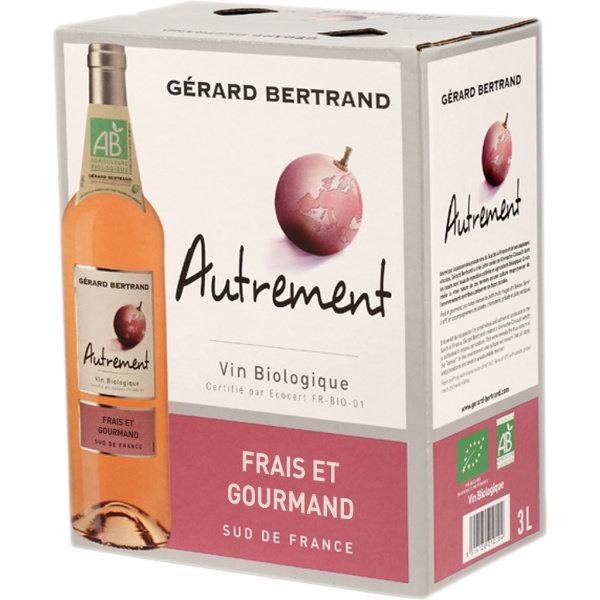 Photo Vin rosé bio Autrement