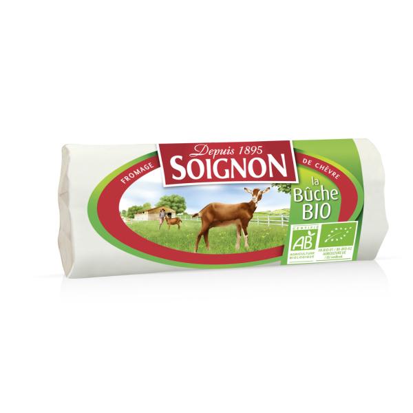 Photo Buche chèvre bio Soignon