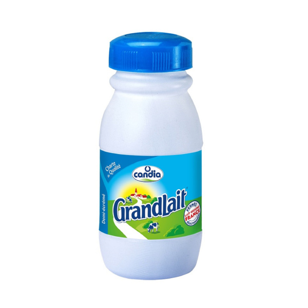 Photo Lait 1/2 écrémé Grandlait