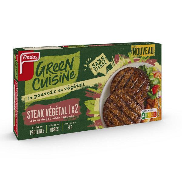 Photo Steak végétal aux pois Findus