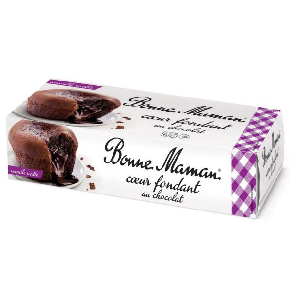 Photo Coeur fondant au chocolat BONNE MAMAN