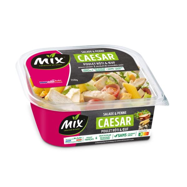 Photo Salade penne poulet césar Mix buffet