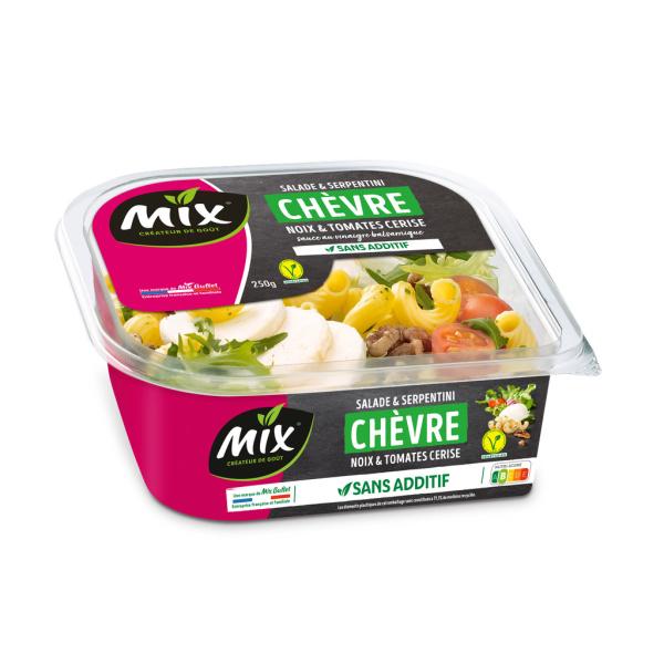 Photo Salade serpentini chèvre Mix buffet