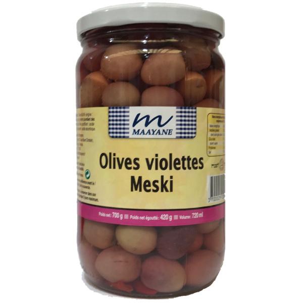 Photo Olives violettes meski MAAYANE