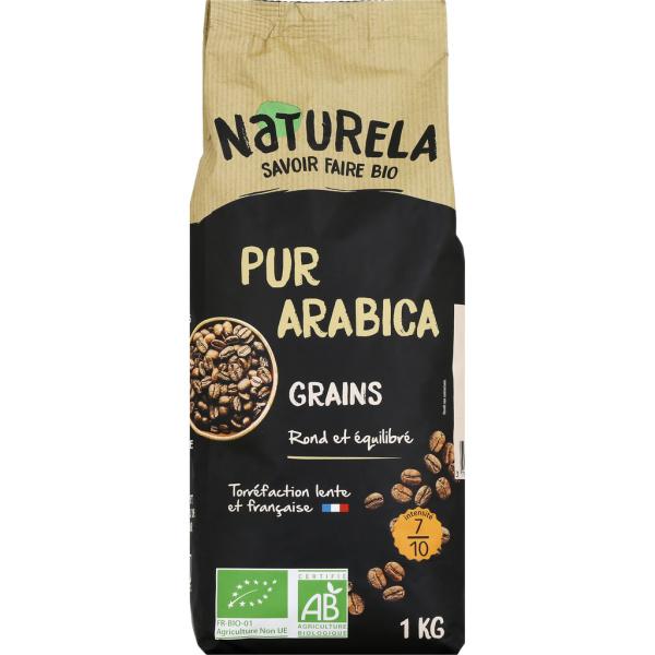 Photo Café 100% arabica bio Naturela