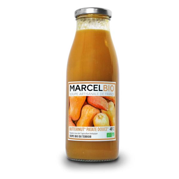 Photo Soupe butternut et patates douces bio Marcel Bio