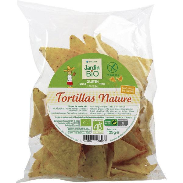 Photo Tortillas nature sans gluten bio Jardin Bio
