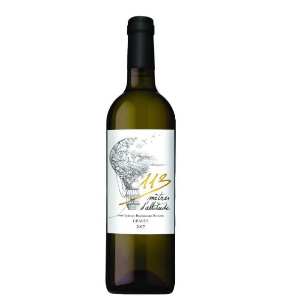 Photo Vin blanc graves Le 113m d'altitude